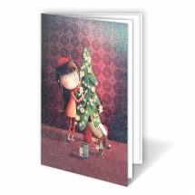 Kalėdinis atvirukas 02.041.18309s