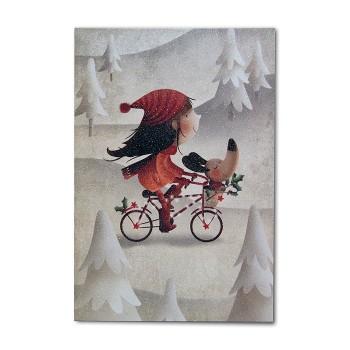 Kalėdinis atvirukas 02.041.18311s