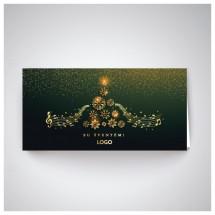 Kalėdinis atvirukas IRH01