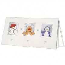 Kalėdinis atvirukas H1756