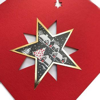 Kalėdinis atvirukas H1051