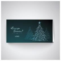 Kalėdinis atvirukas IRH06