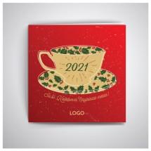Kalėdiniai atvirukai IRKW15-2