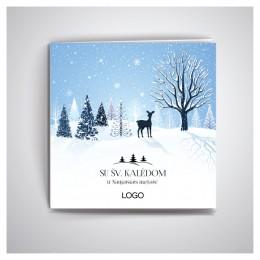 Kalėdiniai atvirukai IRKW36