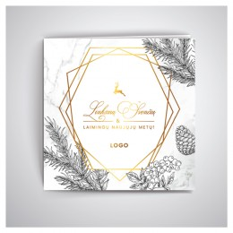 Kalėdiniai atvirukai IRKW59