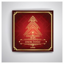 Kalėdiniai atvirukai IRKW64