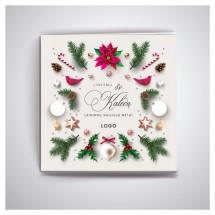 Kalėdiniai atvirukai IRKW65