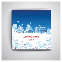 Kalėdiniai atvirukai IRKW75