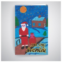 Kalėdinis atvirukas GV03