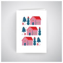 Kalėdinis atvirukas GV184