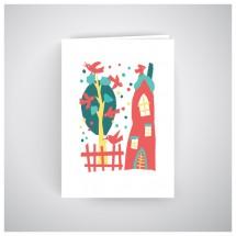 Kalėdinis atvirukas GV186