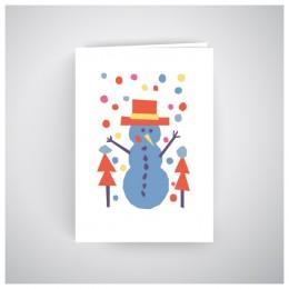 Kalėdinis atvirukas GV188
