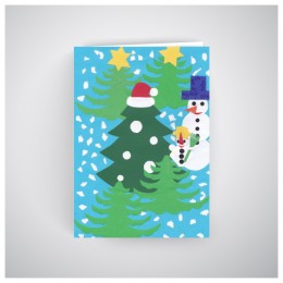 Kalėdinis atvirukas GV1905