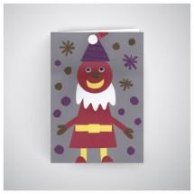Kalėdinis atvirukas GV1910