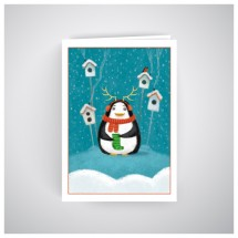 Kalėdinis atvirukas MU05
