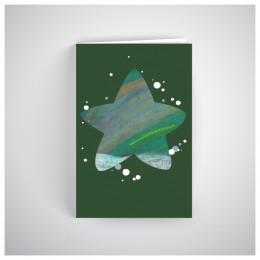 Kalėdinis atvirukas SOS027N