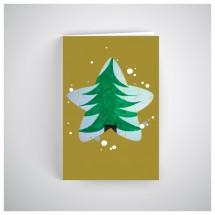 Kalėdinis atvirukas SOS028