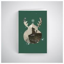 Kalėdinis atvirukas SOS031N