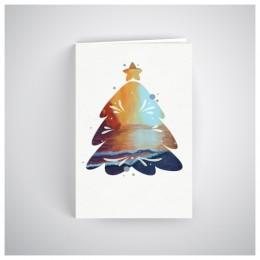 Kalėdinis atvirukas SOS035N