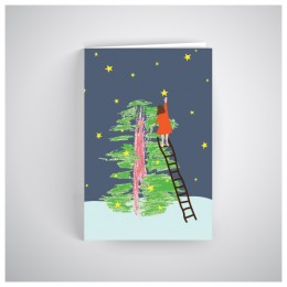 Kalėdinis atvirukas SOS1905