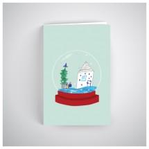 Kalėdinis atvirukas SOS1911
