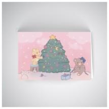 Kalėdinis atvirukas SOS2001