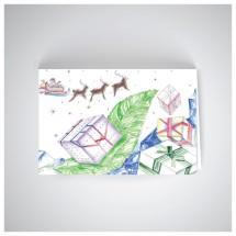 Kalėdinis atvirukas SOS2007