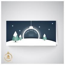Kalėdinis atvirukas  UH06