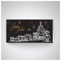 Kalėdinis atvirukas GH24
