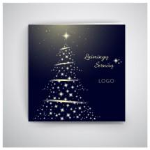 Kvadratinis Kalėdinis atvirukas GKW11