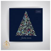 Kalėdinis atvirukas UKW05