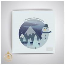 Kalėdinis atvirukas UKW07