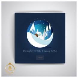 Kalėdinis atvirukas UKW10