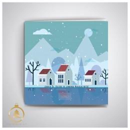 Kalėdinis atvirukas UKW15
