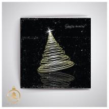 Kalėdinis atvirukas UKW18