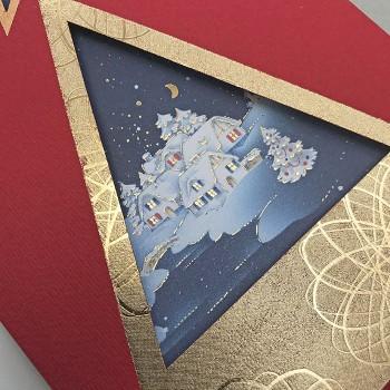 Kalėdinis atvirukas H1015