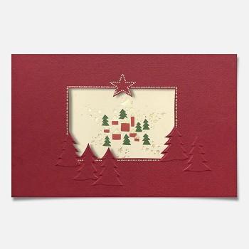 Kalėdinis atvirukas H1115