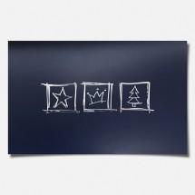 Kalėdinis atvirukas H1659