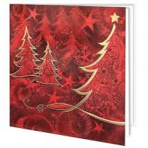Kalėdinis atvirukas H1710