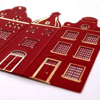 Kalėdinis atvirukas FS589bg