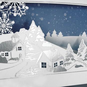 Kalėdinis atvirukas FS731bs