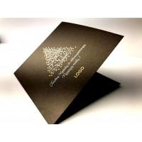 Kalėdinis atvirukas chocolate002