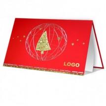 Kalėdinis atvirukas 011351WR
