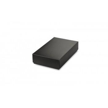 Black box for 2 elements (ball pen + power bank)