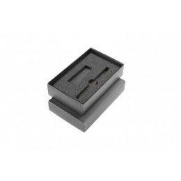 Black box for 2 elements (ball pen + USB)