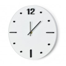 Wall clock TECHNO