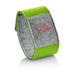 Felt watch light green