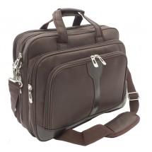 Notebook briefcase brown
