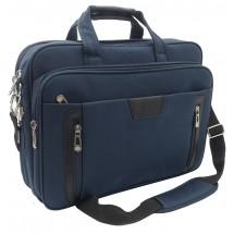 Notebook briefcase navy blue