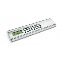 Calculator with ruler